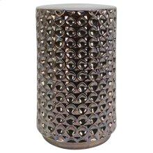 ATHENS STOOL- DARK NICKEL  Black Nickel Finish on Ceramic