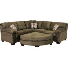 2601R R Arm Corner W Sofa