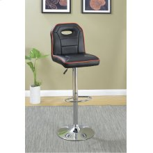 F1629 / Cat.19.p62- ADJUSTABLE BARSTOOL BLK