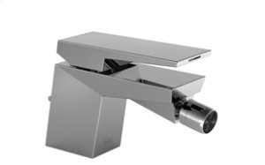 Single-lever bidet mixer with drain - chrome Product Image