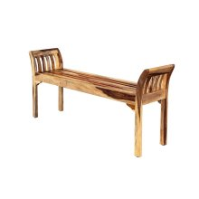 Sheesham Accents Bench, ART-2680