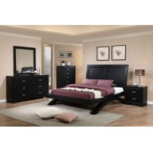 Raven Black Bedroom