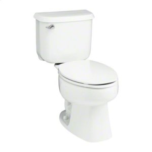"""Windham™ 10"""" Rough-in Elongated Toilet with Pro Force® Technology - White Product Image"""