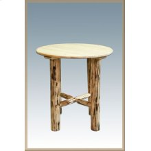 Montana Log Bistro Table