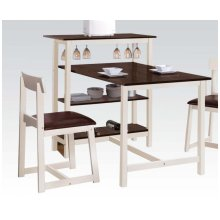 Wh/esp 3pc Pk Dining Set
