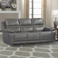PALMER - GREIGE Power Sofa Product Image