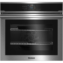 "30"" Single Wall Oven, self clean, cool touch glass, stainless"