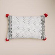 Feliz Pillow - White