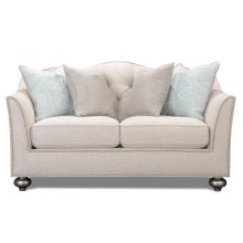 Silver Loveseat