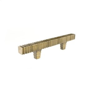 Antique Brass Forged 3 Square Bar Pull 3 Inch (c-c) Product Image