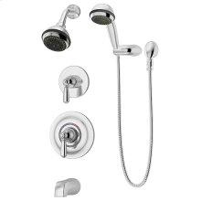 Symmons Allura® Tub/Shower/Hand Shower System - Polished Chrome