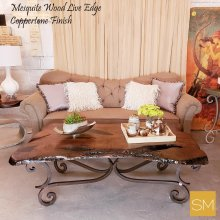 Mesquite Wood Rectangular