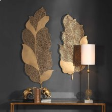 Autumn Lace Metal Wall Decor, S/2