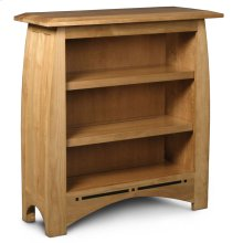 Aspen Short Bookcase, Aspen Short Open Bookcase with Inlay, 2-Adjustable Shelves