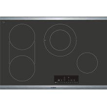 800 Series Electric Cooktop 30'' Black NET8068SUC