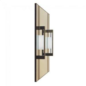 Custom Vanity Mirror Silicon Bronze Brushed Product Image