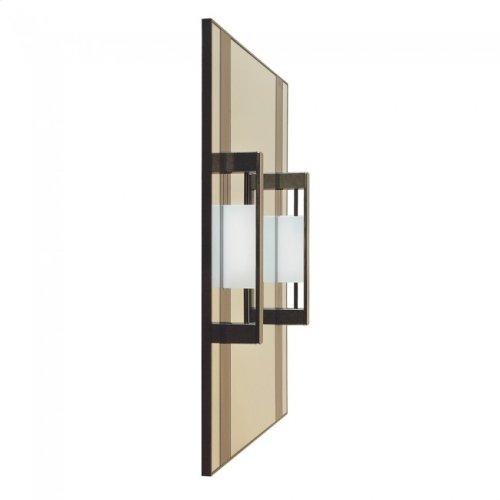 Custom Vanity Mirror Silicon Bronze Brushed