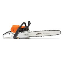 An optimal combination of torque, power and weight - all in one chainsaw.