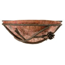 Pine Iron Wall Sconce Right