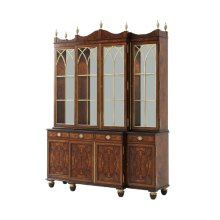 Grand Designs Bookcase / Cabinet - Brass Astragals & Mirror