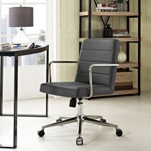 Cavalier Mid Back Office Chair in Gray