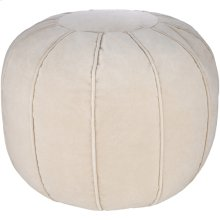 "Cotton Velvet CVPF-010 20"" x 20"" x 14"" Round"