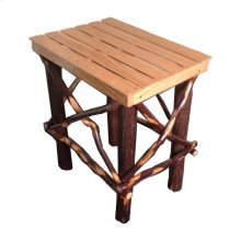 Amish Side Table- Oak/hickory