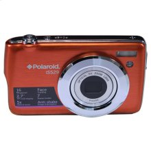 Polaroid 16-Megapixel Ultra Slim 20x Enhanced Optical Zoom Digital Camera with 2.7-Inch LCD Screen, iS529-Orange