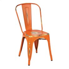 Bristow Armless Chair, Antique Orange, 2 Pack