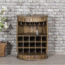 Round Bar Cabinet