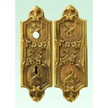 Rim Lock Art Nouveau Style