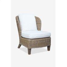 (LS) Ellis Kubu Grey Rattan Club Chair with Cushion ..(28x33x33)
