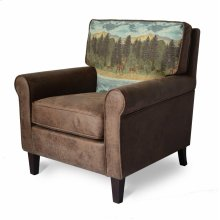 Buck Accent Chair - Chestnut