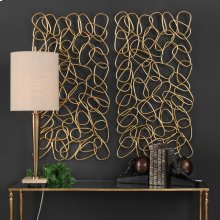 In the Loop Metal Wall Panels, S/2