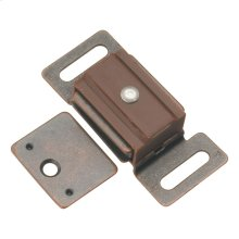 1-7/8 In. Statuary Bronze Magnetic Catch
