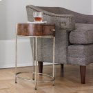 French Key Accent Table - Silver Product Image