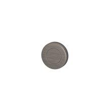 Blank Escutcheons In Vintage Nickel