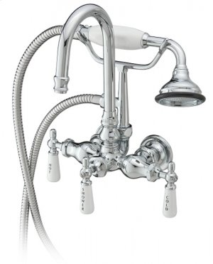 Tub Filler With Hand Shower Product Image