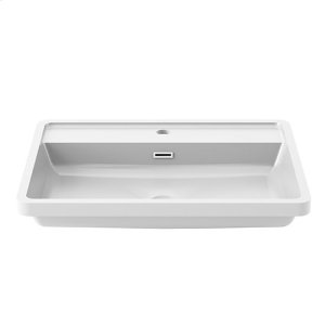 Bathroom sink for single hole faucet - White castylat Product Image