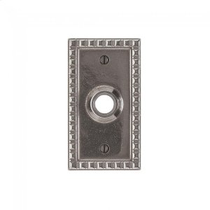 Corbel Rectangular Escutcheon - E30703 Silicon Bronze Brushed Product Image