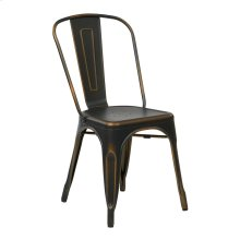 Bristow Armless Chair,antique Copper, 2 Pack