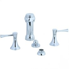Brookhaven - Vertical Spray Bidet Fitting - Polished Chrome