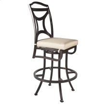 Armless Swivel Bar Stool