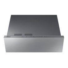 """Modernist 30"""" Warming Drawer, Silver Stainless Steel"""