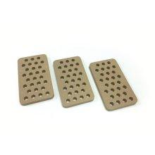 Flat Ceramic Briquettes for Pro Grill