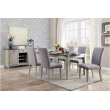 Dining Table, Bluestone Marble Top