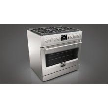 "36"" DUAL FUEL PRO RANGE - STAINLESS STEEL"