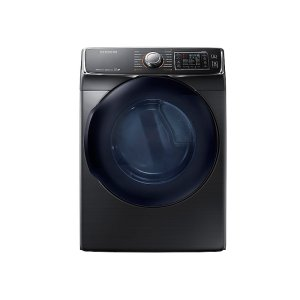 7.5 cu. ft. Electric Dryer in Black Stainless Steel Product Image