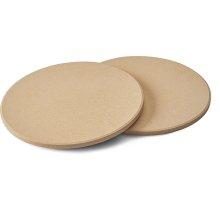 10 Inch Personal Sized Pizza/Baking Stone Set and Baking Stone Set