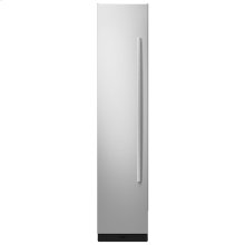 """18"""" Built-In Column Freezer with Euro-Style Panel Kit, Left Swing"""